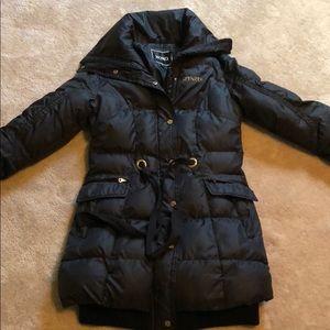 Adorable XOXO Black Puffer Jacket Small